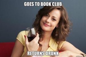 book club drunk